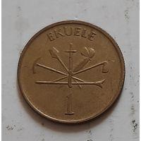 1 экуэле 1975 г. Экваториальная Гвинея