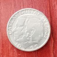 Монета 1 крона Швеция 1990г
