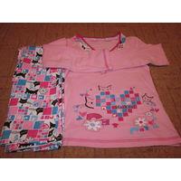 Пижама детская на 98-104-110р с котами