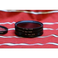 Комплект фильтров 55 мм (3 шт.) (FLD, CPL, UV)