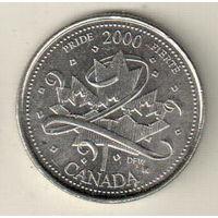 Канада 25 цент 2000 Гордость