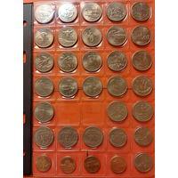 США  25 центов ++ КОЛЛЕКЦИЯ ++ ( 29 шт) + Бонус !!  РАСПРОДАЖА !!