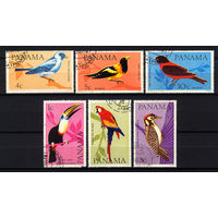 1965 Панама. Птицы