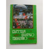 Набор открыток. Цхалтубо. 10 открыток. 1973 год