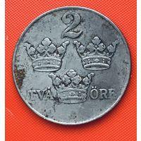 20-04 Швеция, 2 эре 1950 г.