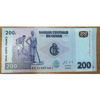 200 франков 2013 года - Конго - UNC
