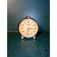 Торг! Часы будильник Слава SLAVA в работу 1