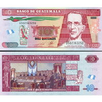 Гватемала  10 кетцаль  2016 год   UNC  (новинка)