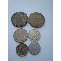 Монеты Монголии.