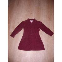 Платье штроксовое на возраст 3-4 года