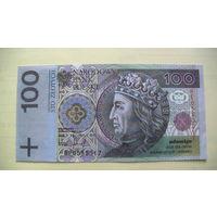 Польша 100 злотых 1994г. сувенир. распродажа