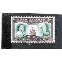 Новая Зеландия.Ми-256.Столетие Новой Зеландии. Абель Тасман и корабль. 1940.