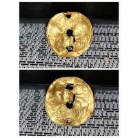 Византия - золотая монета Гистаменон номизма, Константин IX Мономах 1042-1055 - оригинал. С рубля!