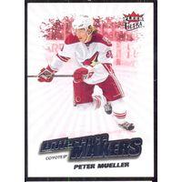 НХЛ сезон 2008-2009 FLEER Ultra Difference Makers MUELLER