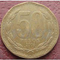 3248:  50 песо 2006 Чили