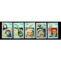 Куба 1986.  25-летие первого человека в космосе.