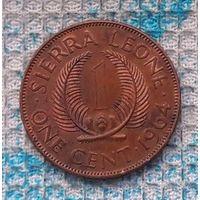Сьерра-Леоне 1 центов 1964 года. Инвестируй в историю!