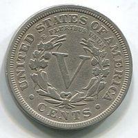 США - 5 ЦЕНТОВ 1911