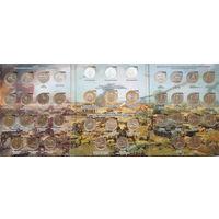 70 лет Победы. Полный комплект - 40 монет UNC (37 монет - 5 руб., 3 монеты -10 руб.) в оригинальном альбоме