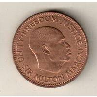 Сьерра-Леоне 1/2 цент 1964