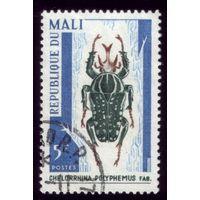 1 марка 1967 год Мали Жук 151