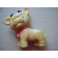 Советская игрушка-телёнок