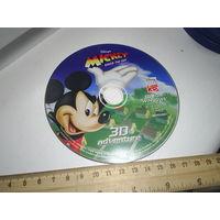 """Компакт-диск с игрой """"Микки Маус"""""""