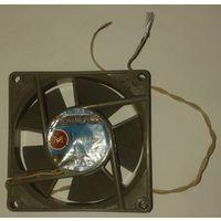 Вентилятор 80х80х25 12В 0,25А