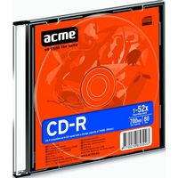 Acme CD-R 700MB 52x Slim Case 1шт