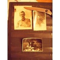 6 фото послевоенных советских солдатиков