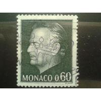 Монако 1974 князь Ренье 3 0,6фр Михель-0,8 евро гаш