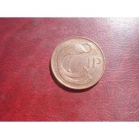 1 пенни 1996 года Ирландия