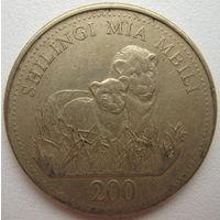 Танзания 200 шиллингов 1998 г. (d)