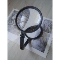 Лупа просмотровая ЛП-1-2х стекло 14 см