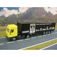 Модель грузового автомобиля Iveco Eurotech (5). Масштаб HO-1:87.