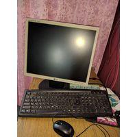 Компьютер стационарный и Монитор LG ж/к