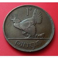 27-13 Ирландия, 1 пенни 1928 г.