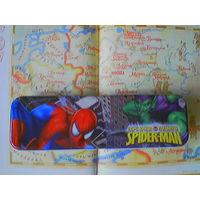 Жестяной пенал-коробка Человек-паук (Spider-man. Spider sense).