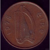 2 пенса 1975 год Ирландия