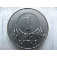 Литва 1 лит 2001 г.