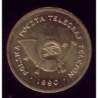 Польский телефонный жетон 1990 С