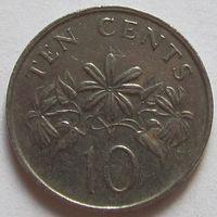 10 центов 1987 Сингапур