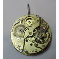 """Механизм от карманных часов """"ZENITH"""" до 1917г. Швейцария. Диаметр 4.5 см. Не исправный."""