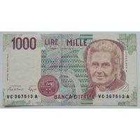 Италия 1000 Лир 1990 , VF, 699