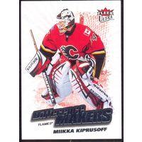 НХЛ сезон 2008-2009 FLEER Ultra Difference Makers KIPRUSOFF