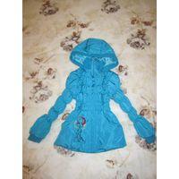 Курточка-пальтишко  на девочку до 107 см