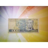 Бразилия 100 000 крузейро 1981-85гг