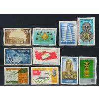 Турция Респ 1958-86 Набор памятных марок**