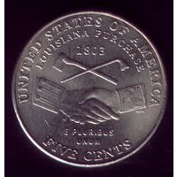 5 центов 2004 год Р США