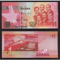 Распродажа коллекции. Гана. 1 седи 2010 года (P-37c - 2007-2017 Issue)